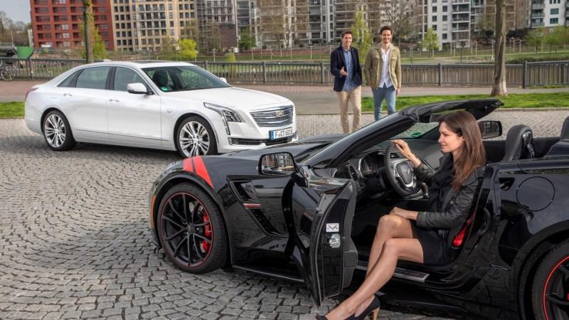 Einen Cadillac nach Lust und Laune fahren