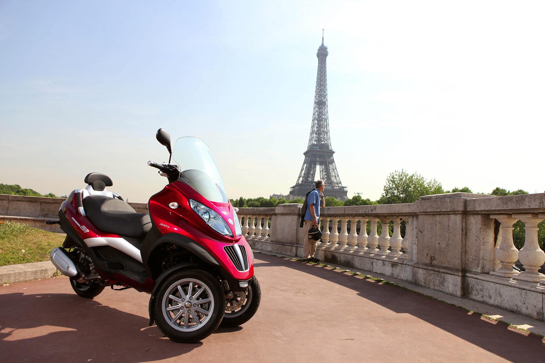 Die Top Ten der beliebtesten Gebrauchtmotorräder führt ein dreirädriger Großroller an