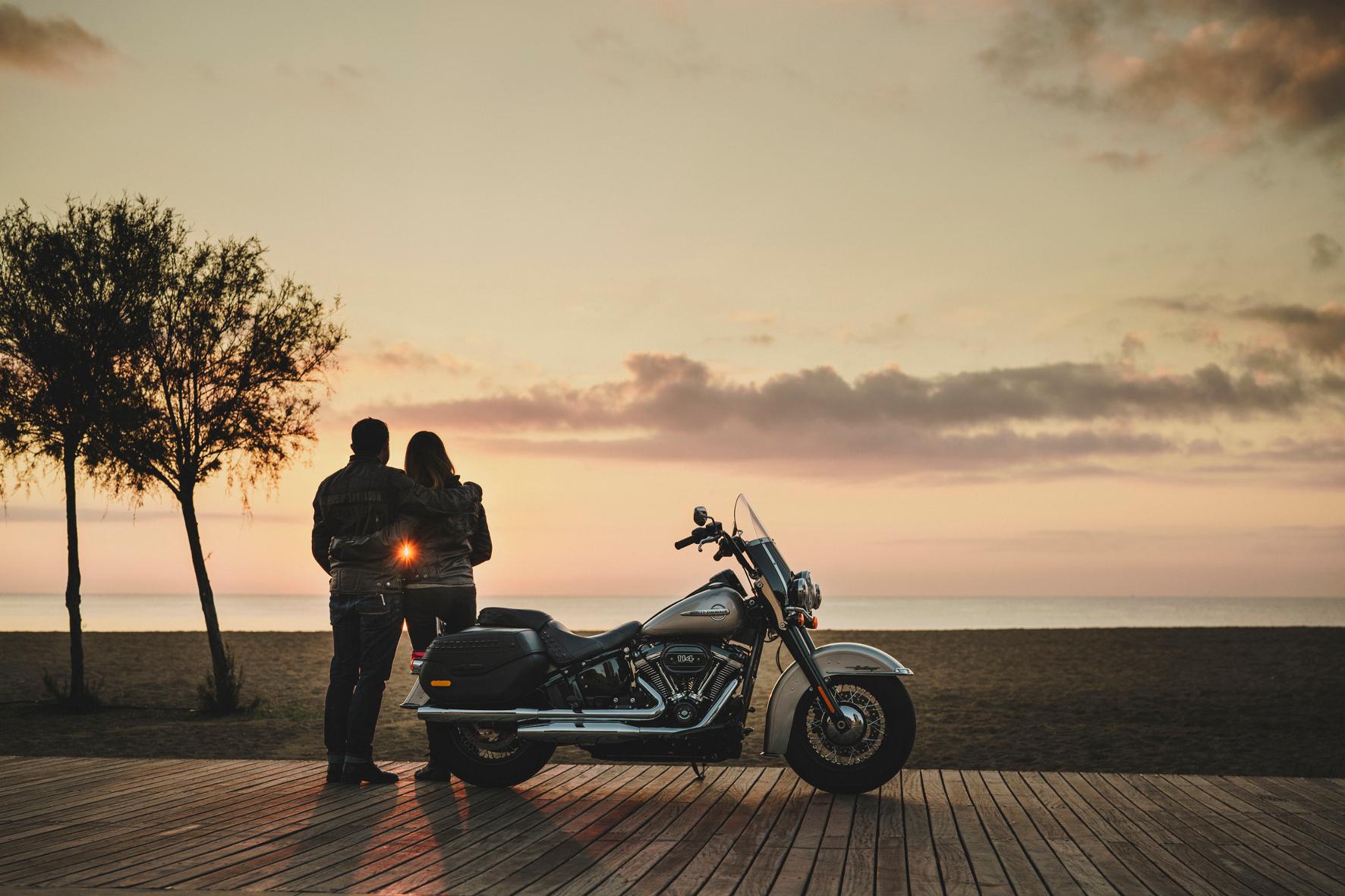 Abenteuer mit Harley-Davidson-Garantie