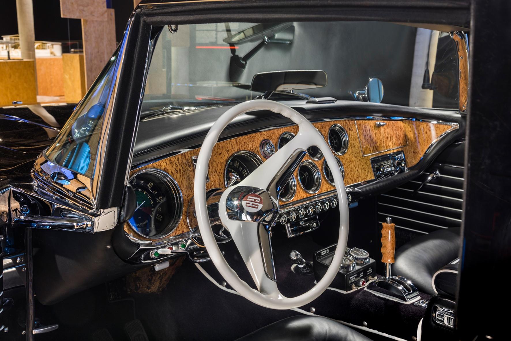 Seltener US-Sportwagen, Baujahr 1957 kommt zurück ins Zeppelin Museum