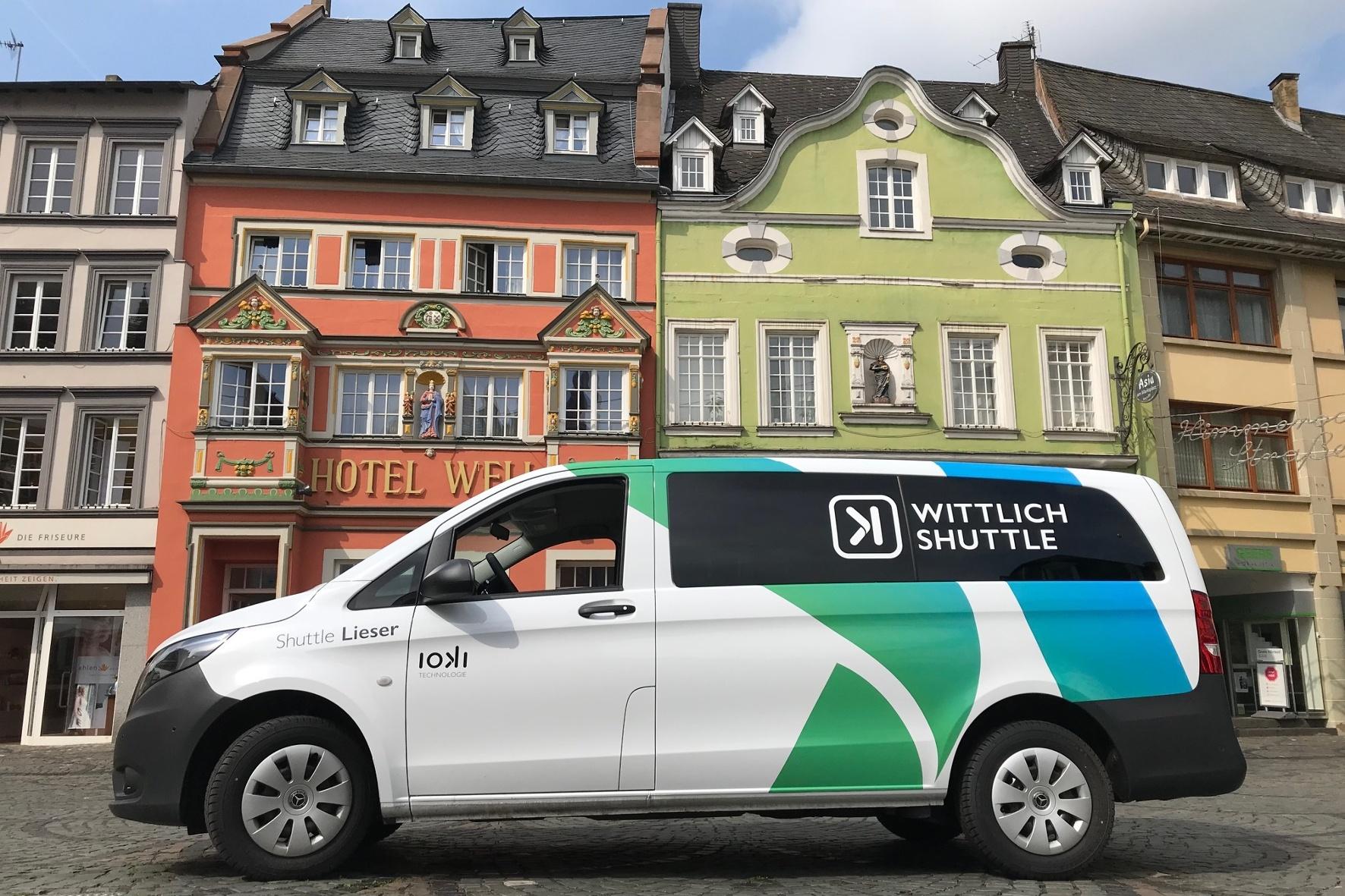 Neuer Ruf-Bus-Service ergänzt per App bestehende Verkehrsinfrastrukturen