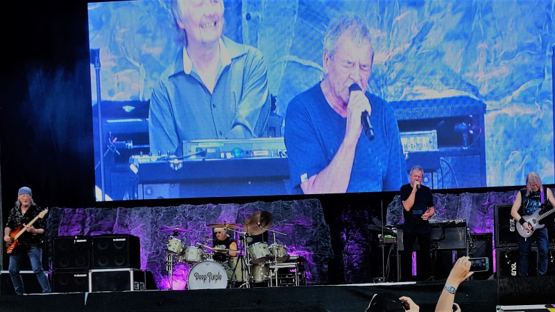 Rockkonzert: Deep Purple Fans waren zufrieden