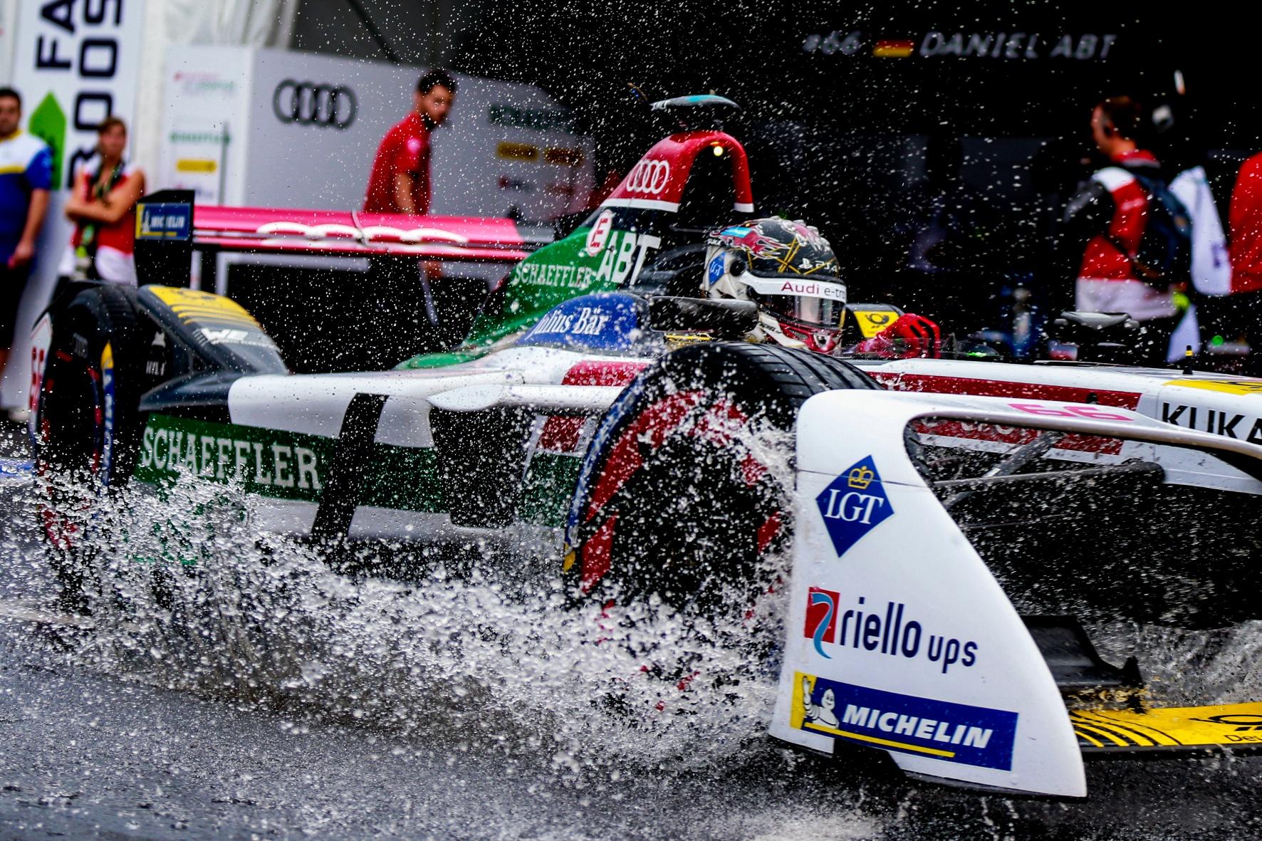 Formel E: Rein elektrisch angetriebene Boliden schnappen sich den Team-Titel