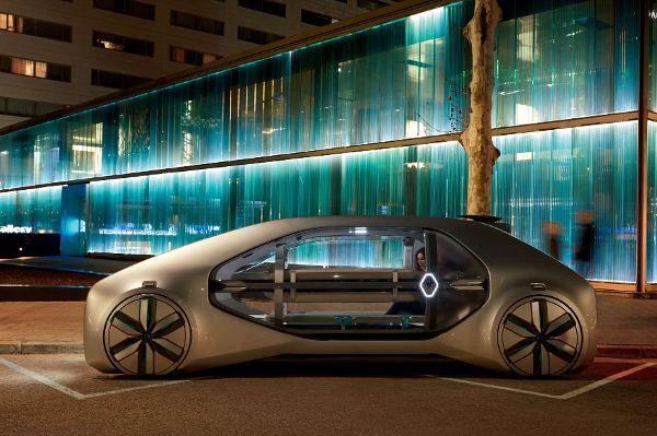 Renault Autonomes fahren