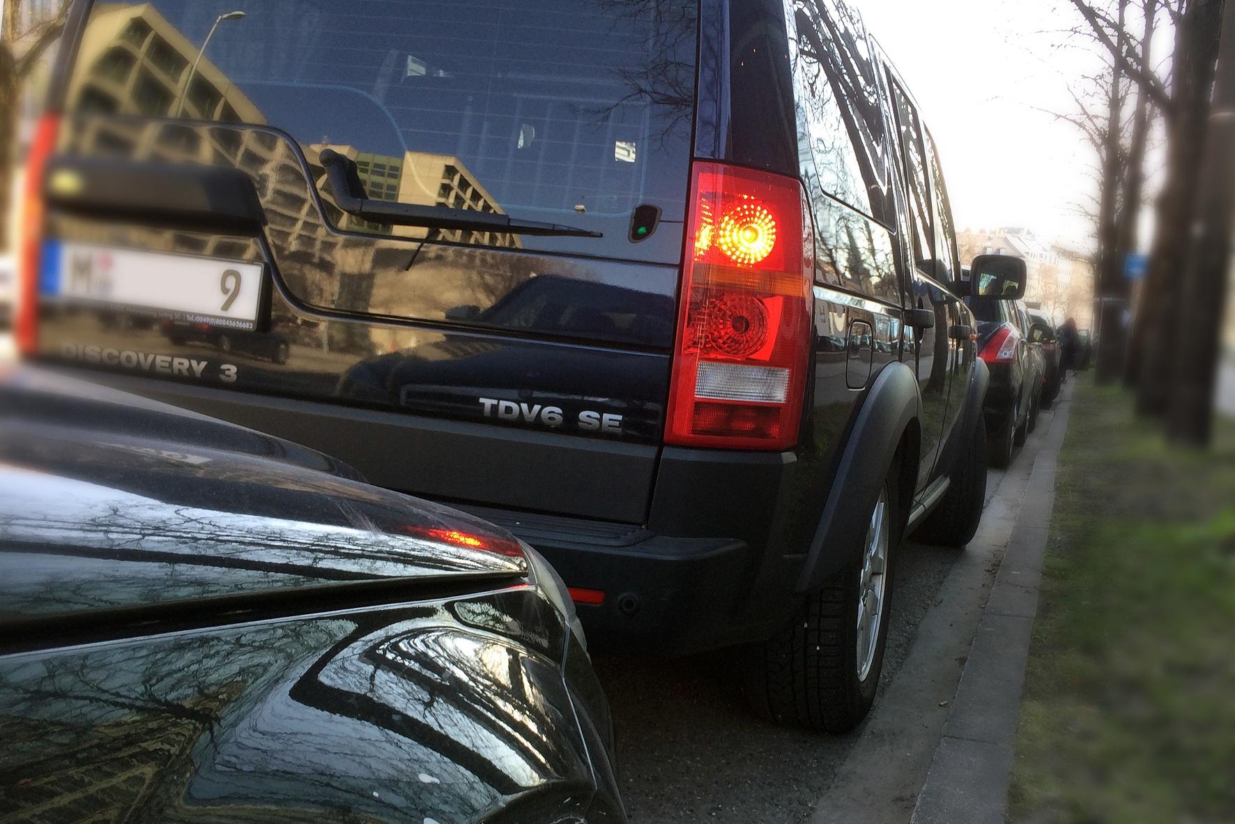 Parkplatzsuche in Großstädten ein Dauerstress