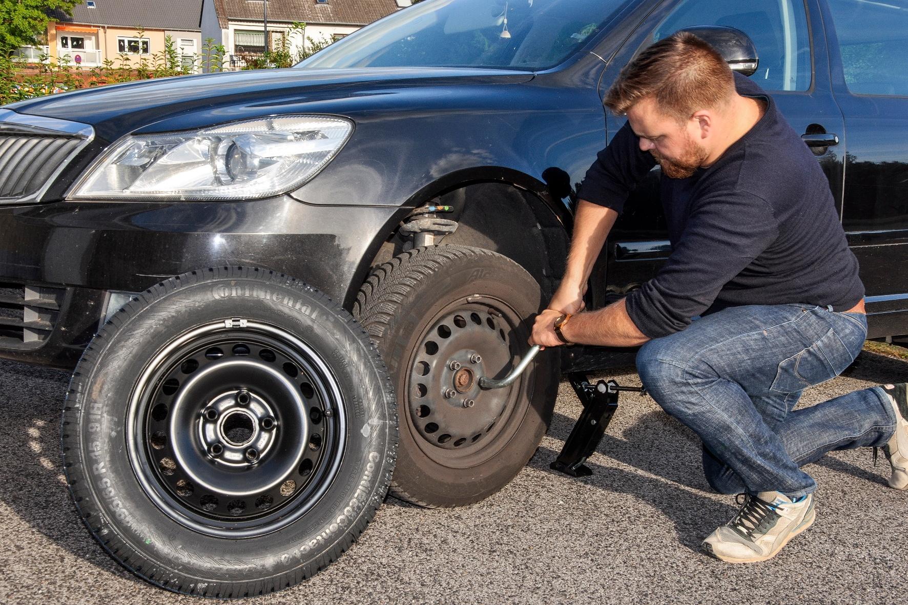 Reifen härten nach sechs Jahren aus