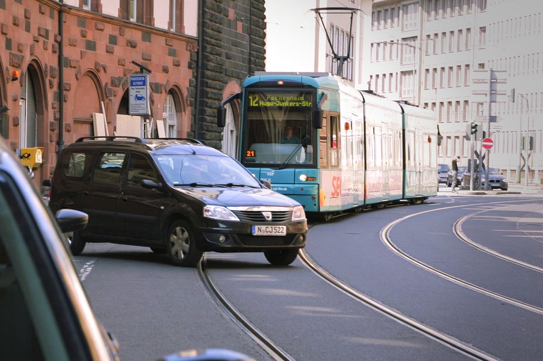 Warum Strassenbahnen oftmals Vorfahrt haben