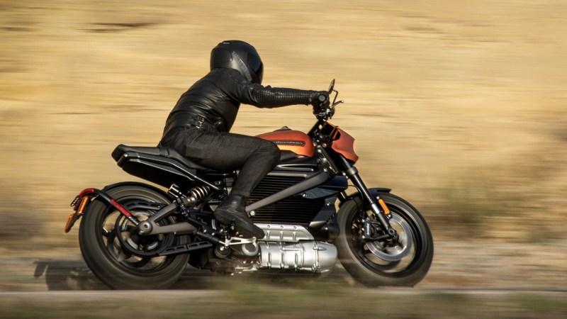 Unter Strom: die voll-elektrische Harley-Davidson LiveWire. © Harley-Davidson /TRDmobil
