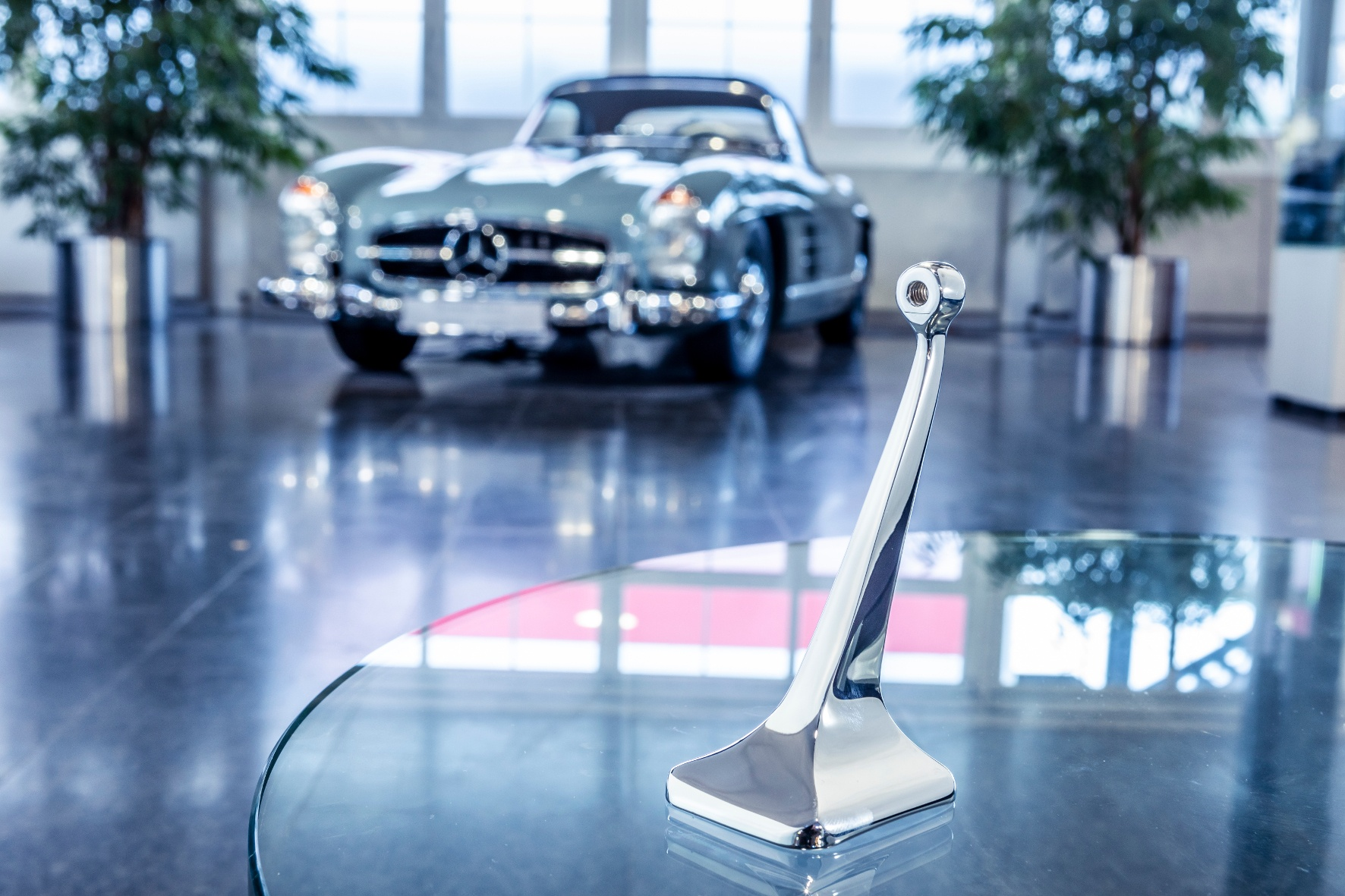 Mercedes-Classic-Cars Ersatzteile druckfrisch  aus dem 3D-Drucker