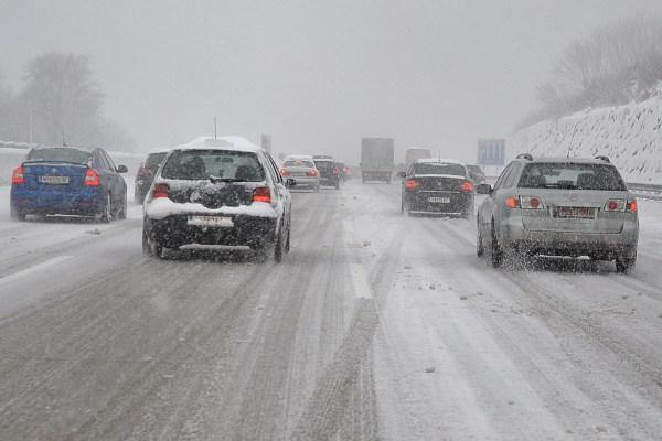 Winter Verkehr