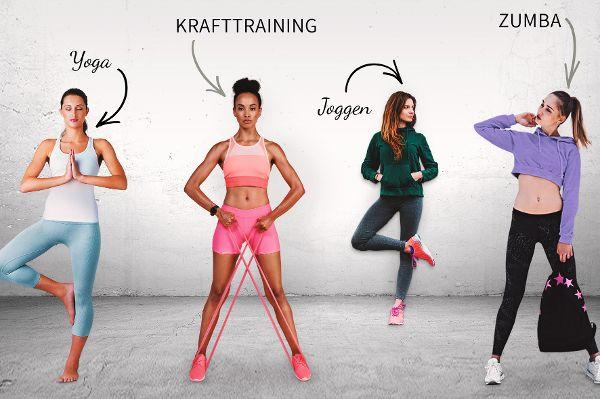 Mode für jede Sportart: Wenn das Fitneßstudio zum Laufsteg wird