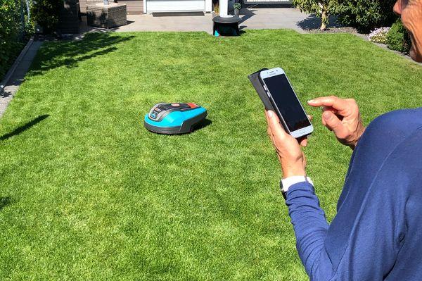 Elektronische Gartenpflege ganz ohne körperliche Arbeit