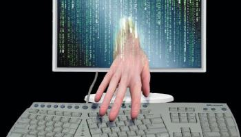 Digitale Daten am Arbeitsplatz mitgehen lassen.