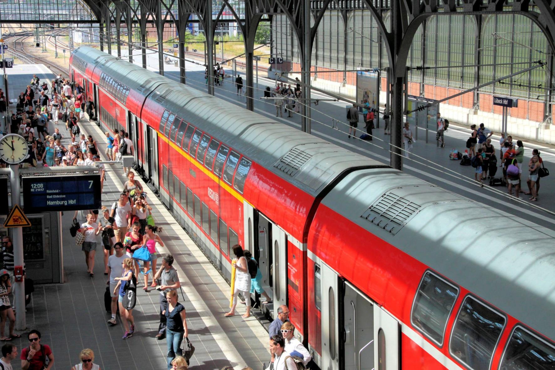 In NRW sind Bahn- und Busreisen teurer als im Bundesdurchschnitt