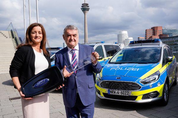 NRW-Polizei bald im Ford auf Streife