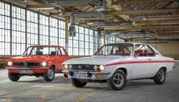 Klassiker mit gemeinsamer Technik: Opel Ascona (l.) und Manta feierten 1970 ihr Debüt. © Opel / TRD-mobil