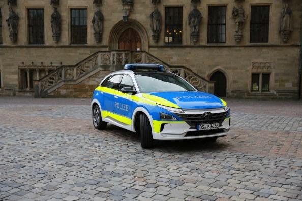 Hyundai Polizei
