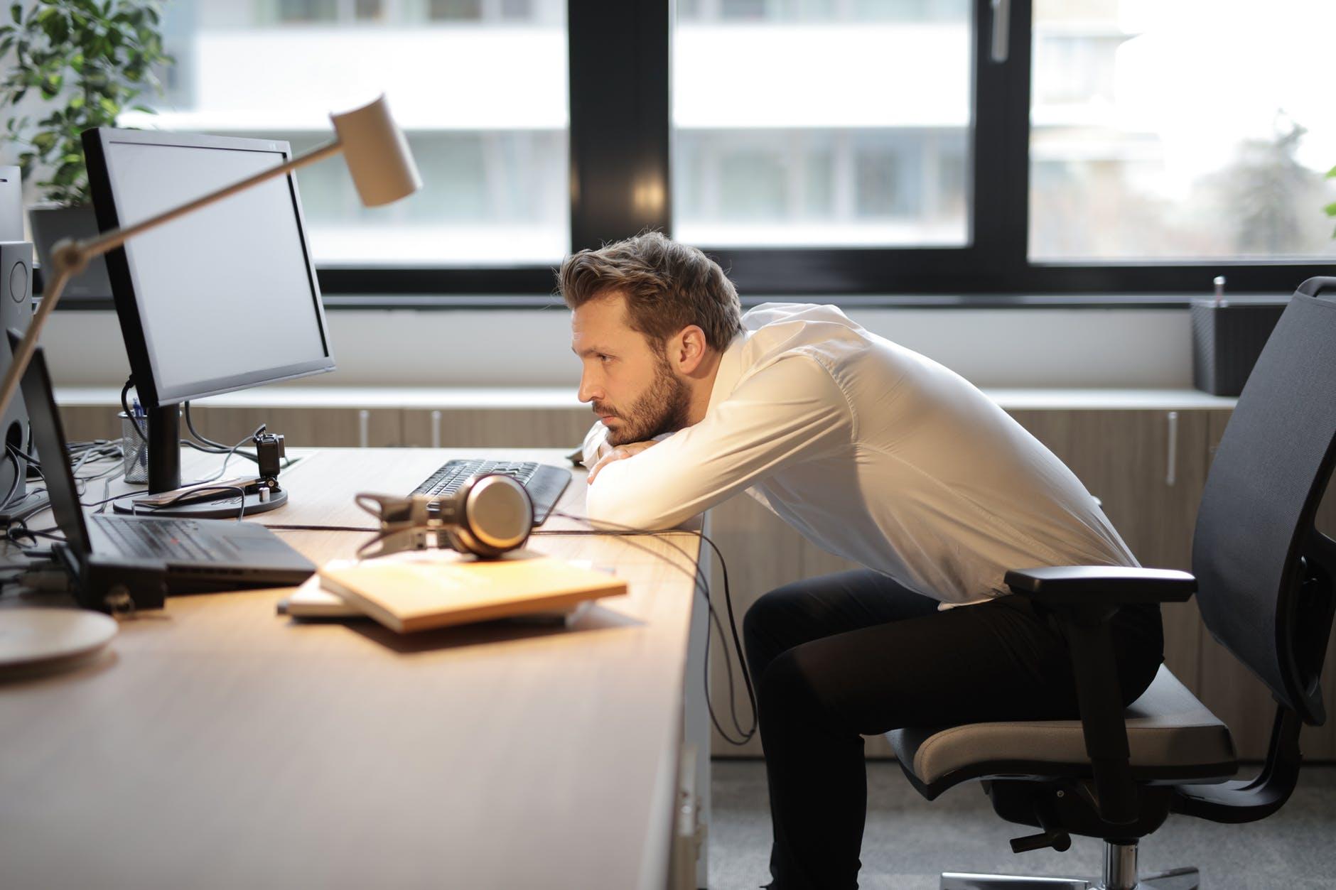 Warum Büroarbeiter den Sport scheuen