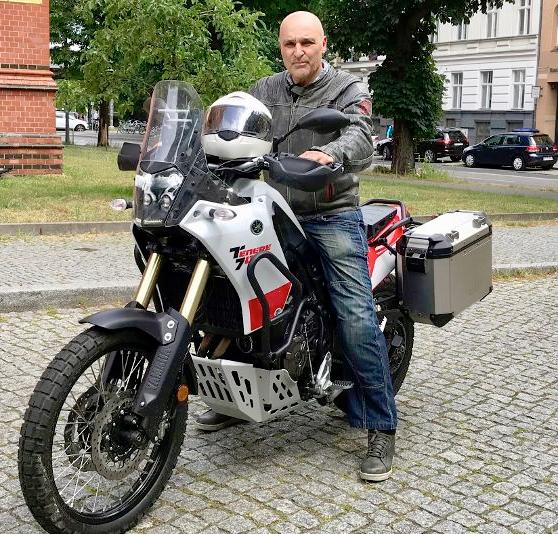 Reise-Enduro für eine Motorradtour um die Welt