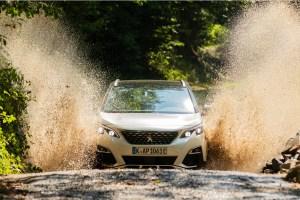 Der Peugeot 3008 Hybrid4. © Markus Heimbach / PSA / TRD mobil