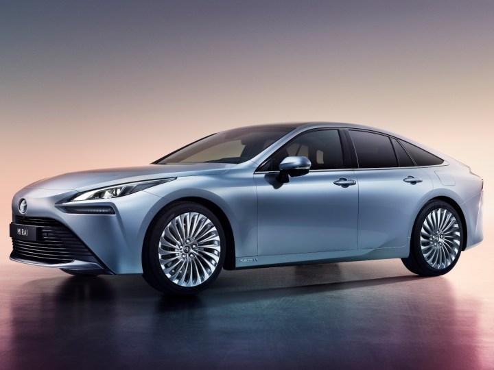 Imposanter Eindruck: Der neue Mirai wirkt elegant und dynamisch. © Toyota / trd mobil
