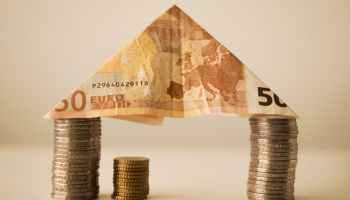 Euro Geld Lack