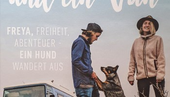 """Bei der Lektüre von """"Vier Pfoten und ein Van"""" ist Fernweh programmiert. Erschienen im Bruckmann Verlag, 190 Seiten zum Preis von 19,90 Euro. © Bruckmann Verlag /TRD Freizeit und Reisen"""