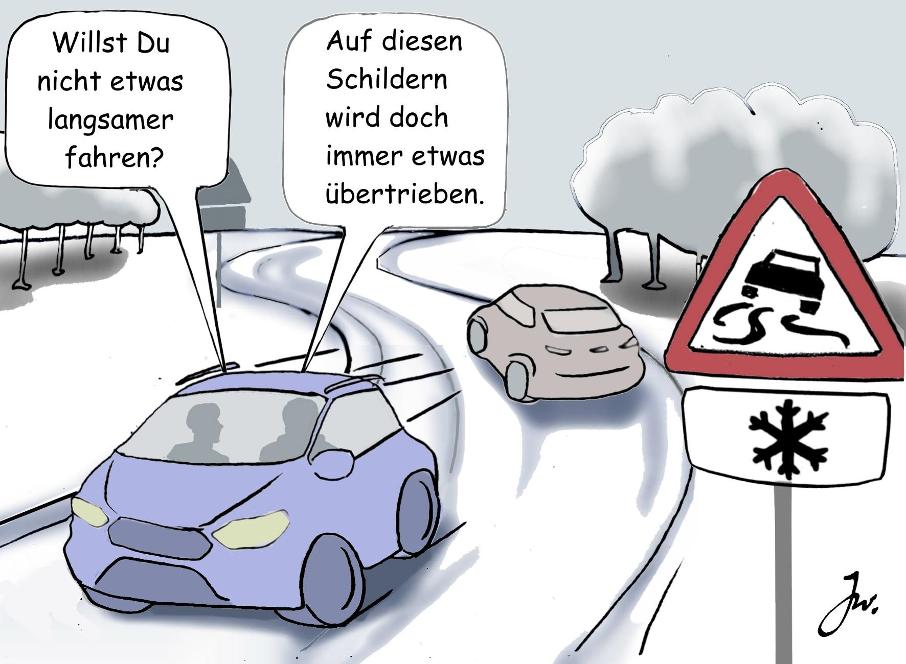 Auto-Winter: Über Gefahren und Herausforderungen