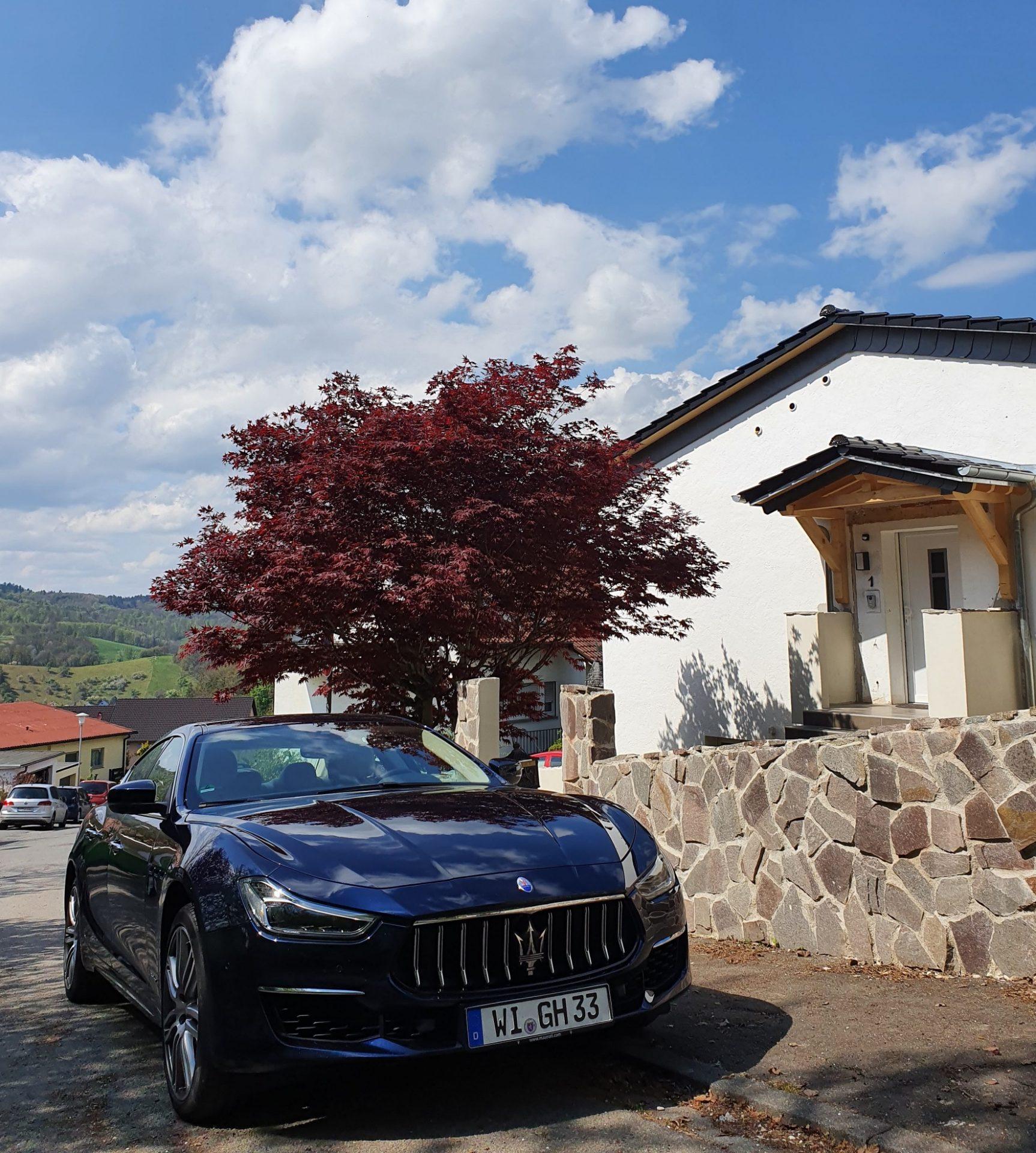 """Im Luxus-Italiener mit """"Urano-Design"""" auf Probefahrt"""