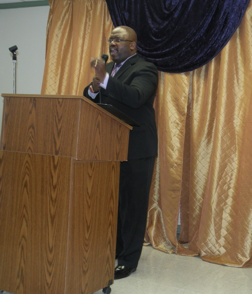 Pastor Ted Green