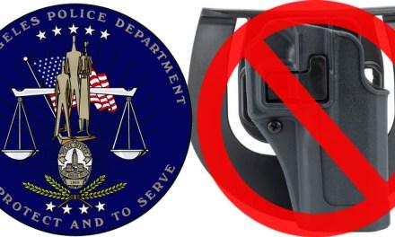 Le LAPD interdit les holsters SERPA