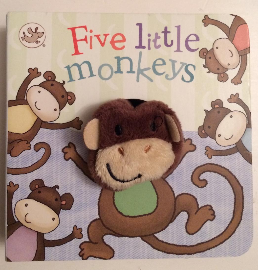 Five Little Monkeys Board Book