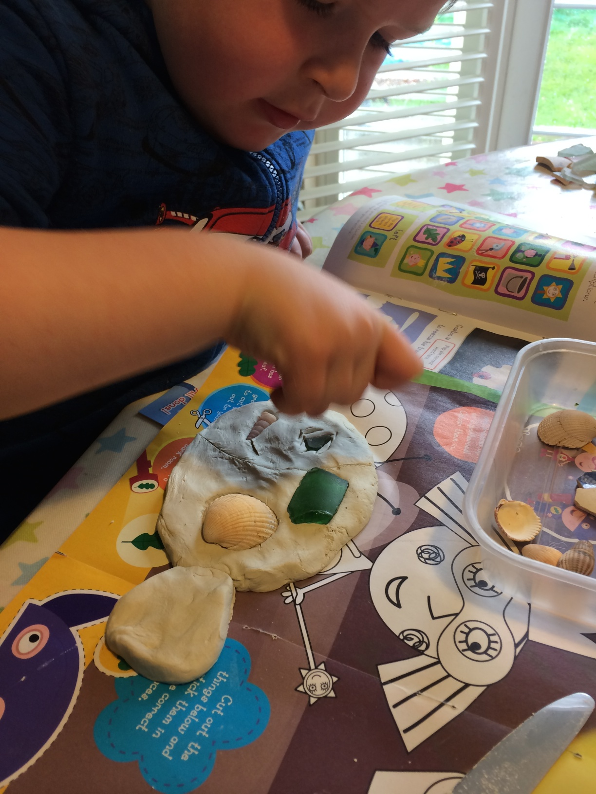 Tiddler The Story Telling Fish Craft