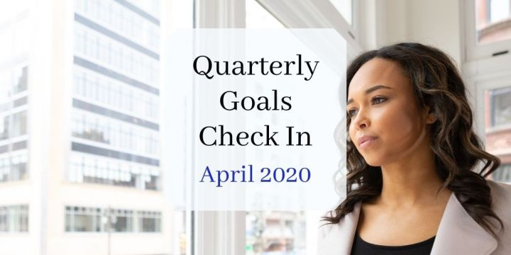 quarterly goals header