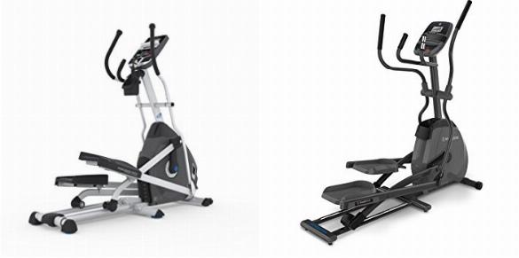 Nautilus E614 Elliptical vs Horizon Fitness EX-59