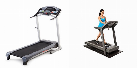 Weslo Cadence G 5.9 Treadmill vs Horizon Fitness T101-04