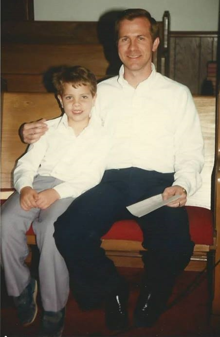 Nathan with Dad