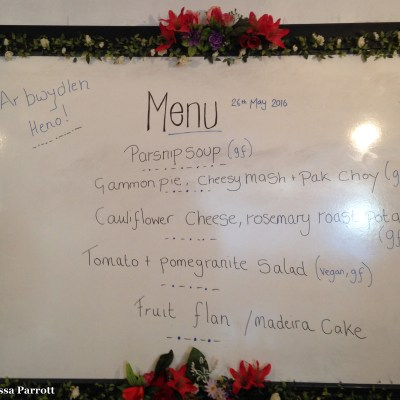 The menu at the Pay As You Feel Cafe included multiple courses and dessert.  Like our Food Not Bombs, the meals are made with food that would otherwise be discarded, and the meals are provided to the community on a pay what you can basis.  I had plenty to eat and enjoyed chatting with many of the staff, volunteers and patrons.