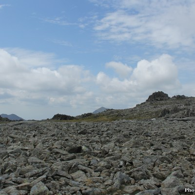 From 1001m up, on the peak of Glyder Fawr, we could see all of Snowdonia spread out before us.