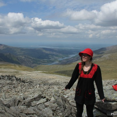 On top of Glyder Fawr