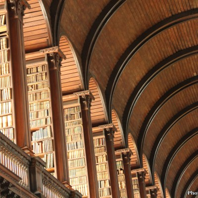 The Long Room Library at Trinity College