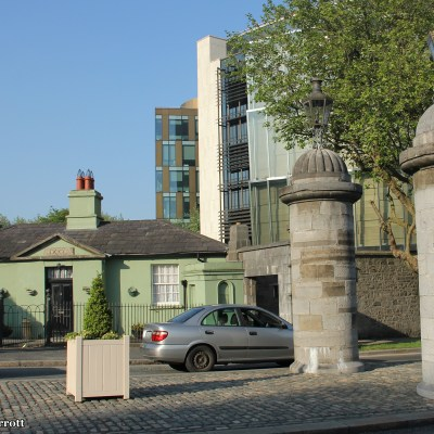 Phoenix Park Entrance & Criminal Courts of Justice