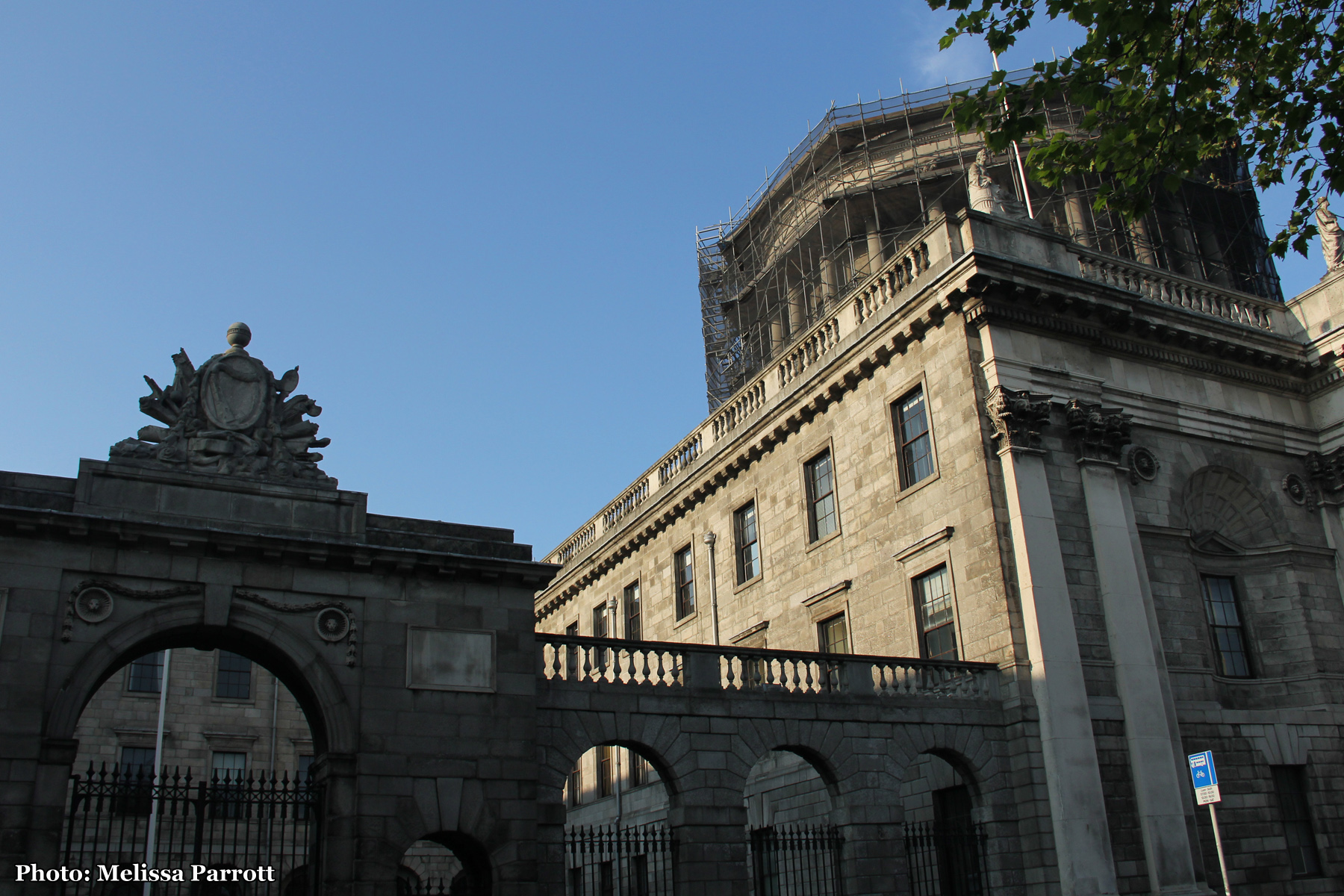 Aras Ui Dhailigh and The Four Courts
