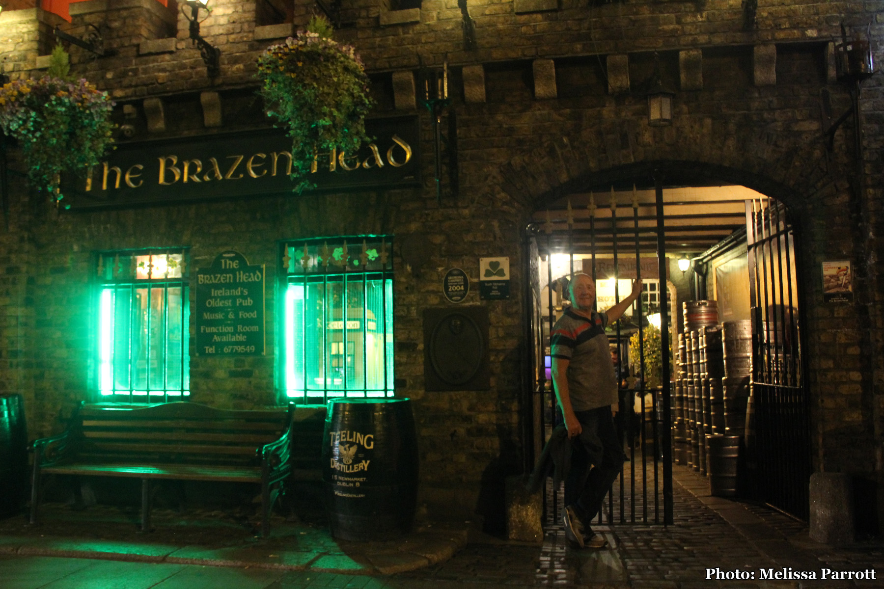Ireland's Oldest Pub, The Brazenhead