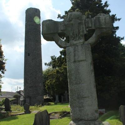 The Round Tower and The East Cross