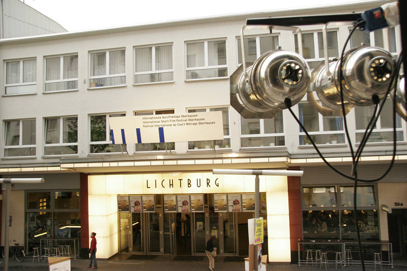 Image of the facade of the festival cinema Lichtburg Filmpalast, Oberhausen