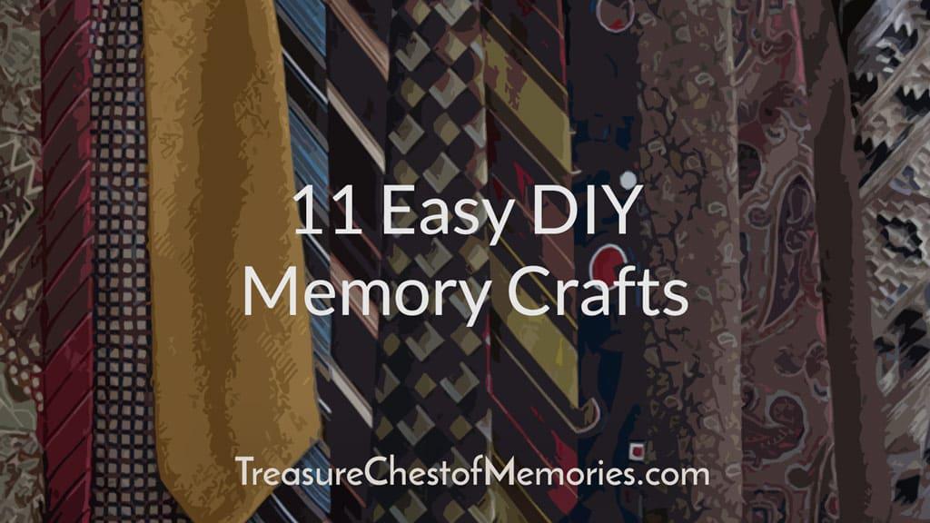 11 Easy DIY Memory Crafts