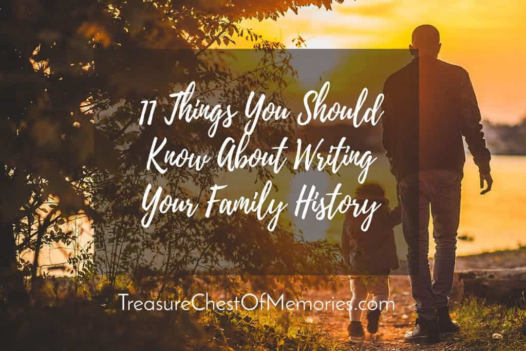 Graphic for Writing Your Family History