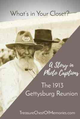 The 1913 Gettysburg Reunion Graphic