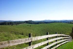 Rolling Hills of farmland